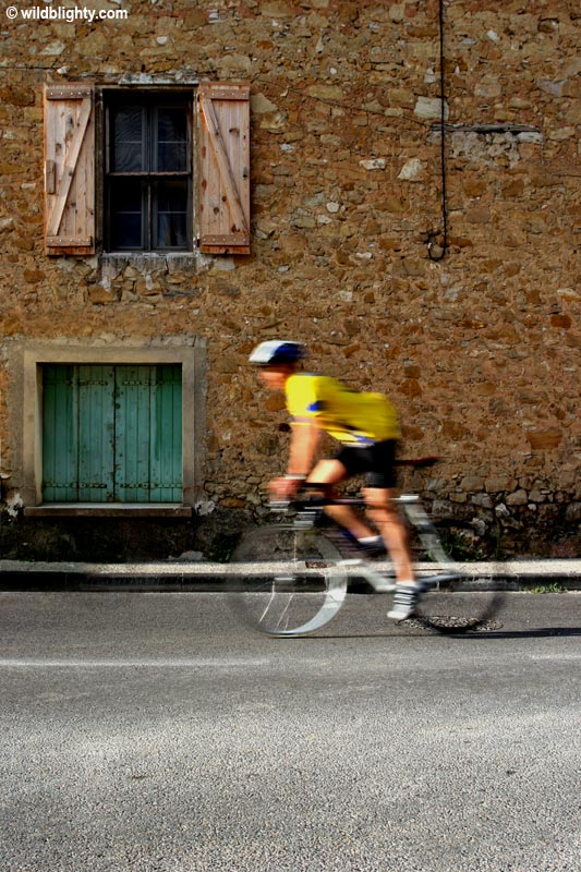 Road Cycling in Bedoin Provence France