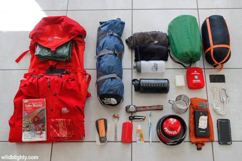 Wild Camping Kit List Essentials for a Mountain Adventure ...