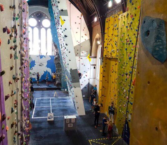 Warrington North West Face Climbing Wall