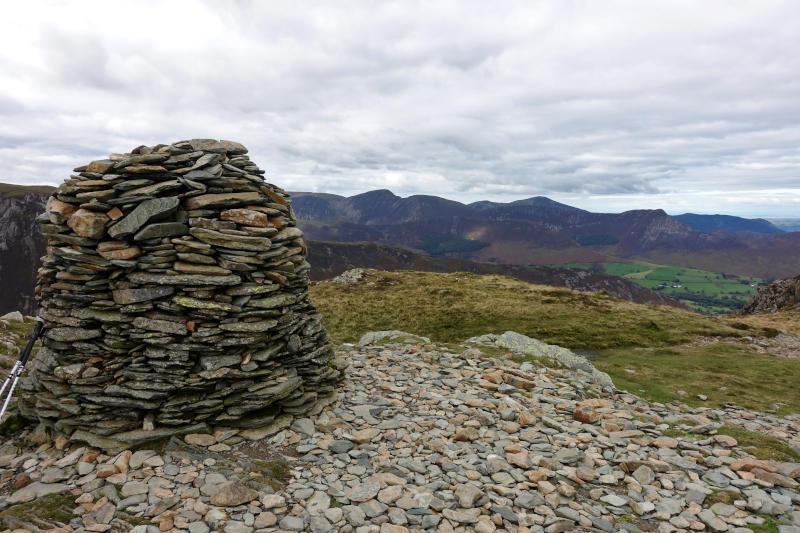 High Spy summit cairn