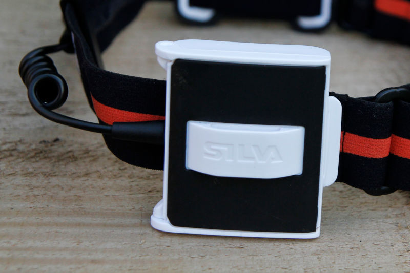 Close up of the Silva Trail Runner 4 Battery Case