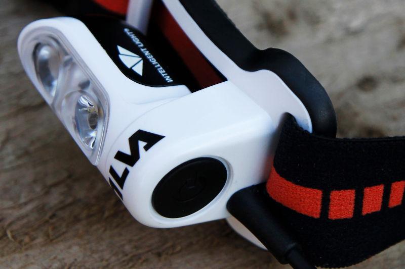 The mode/power button - Silva Trail Runner 4