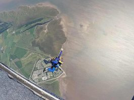 Skydiving in the Lake District