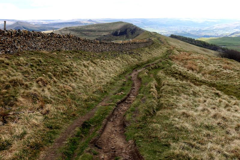 View of Rushup Edge
