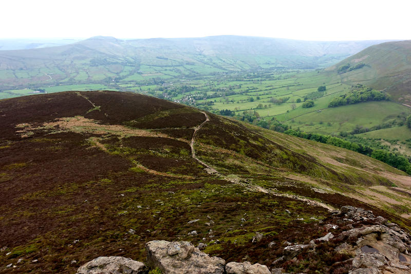 Edale from Ringing Roger