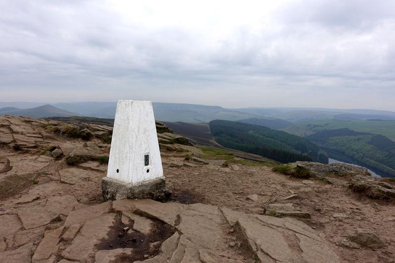 Win Hill summit trig